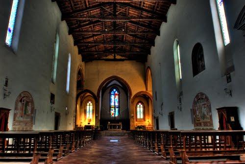 Interior da Basílica.