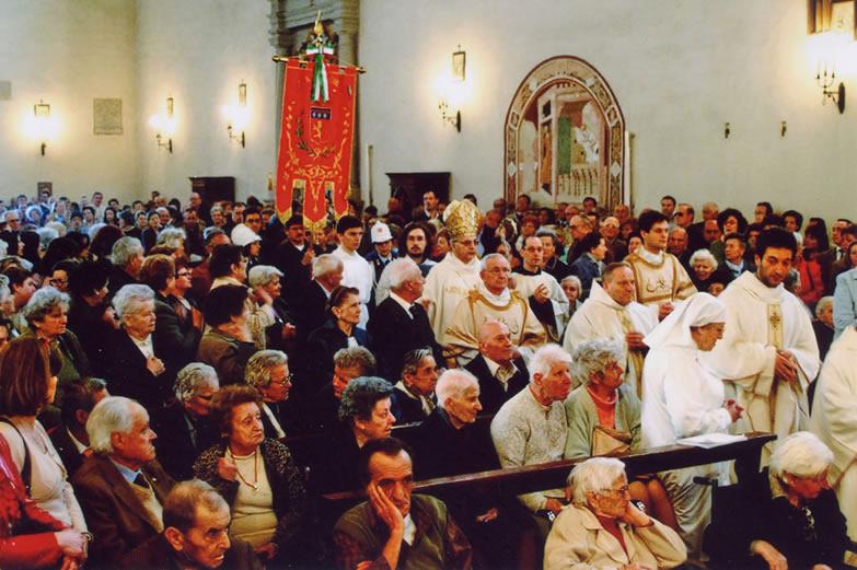 Foto da festa de São Luquésio publicada no site da comuna de Poggibonsi.