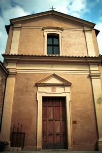 Igreja da Boa Morte em Cannara, onde teria sido formada a primeira fraternidade da OFS pelo próprio Francisco de Assis